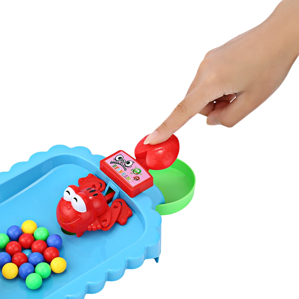 3228 Frog Eating Bean Board Toy Interactive Desk Table Game