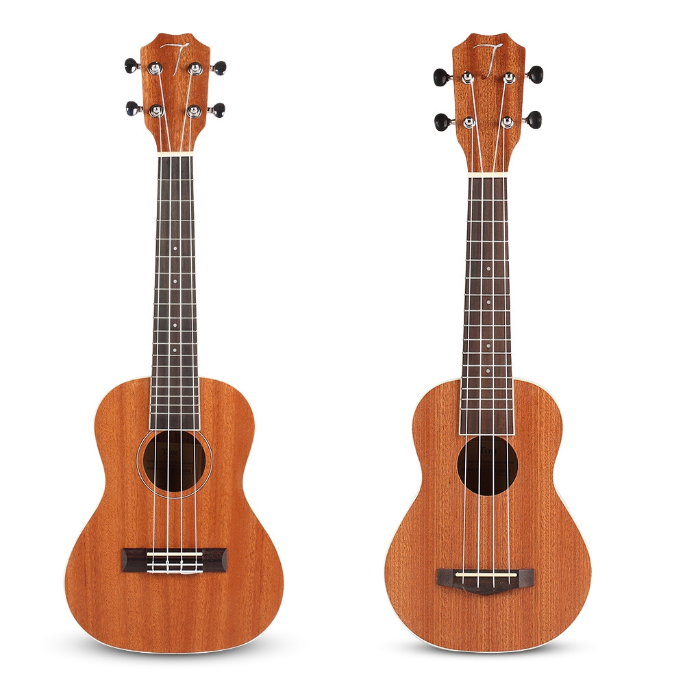 TOM TUS - 200B Acoustic Concert Soprano Ukulele with Carrying Bag