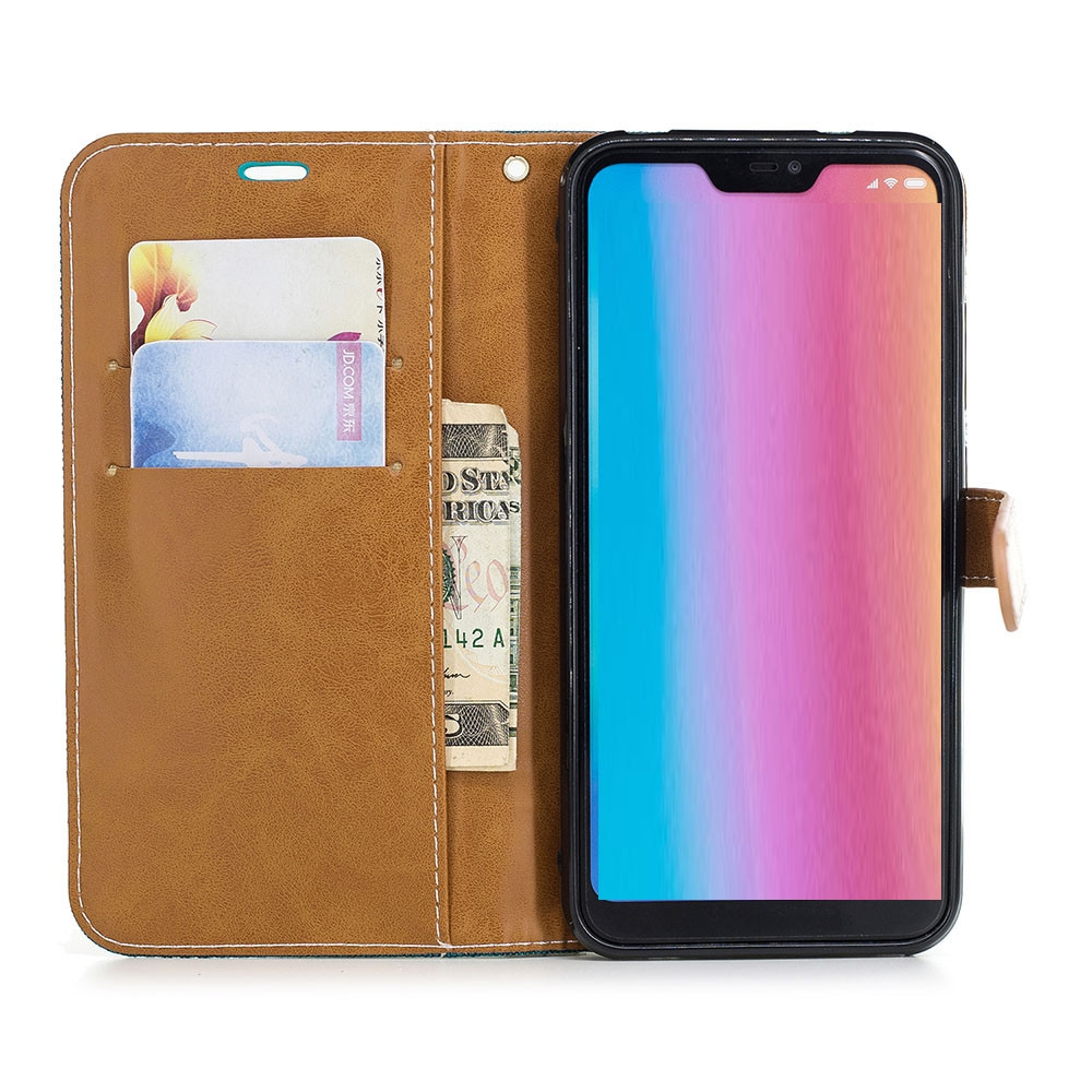 Cowboy PU Leather Wallet Case for Xiaomi Mi A2 Lite