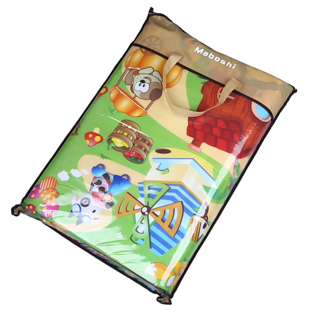Maboshi Double-sides Soft Game Rug Play Crawling Sports Toy