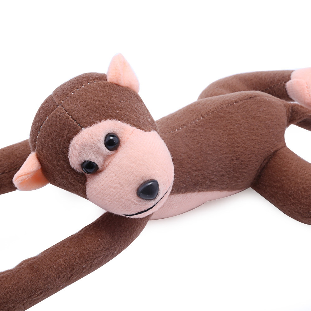 Long Arm Hanging Monkey Plush Toy Stuffed Animal Doll