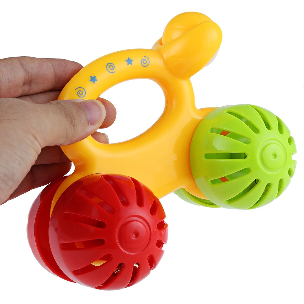Baby Trolley Handbell Rattle Educational Toy