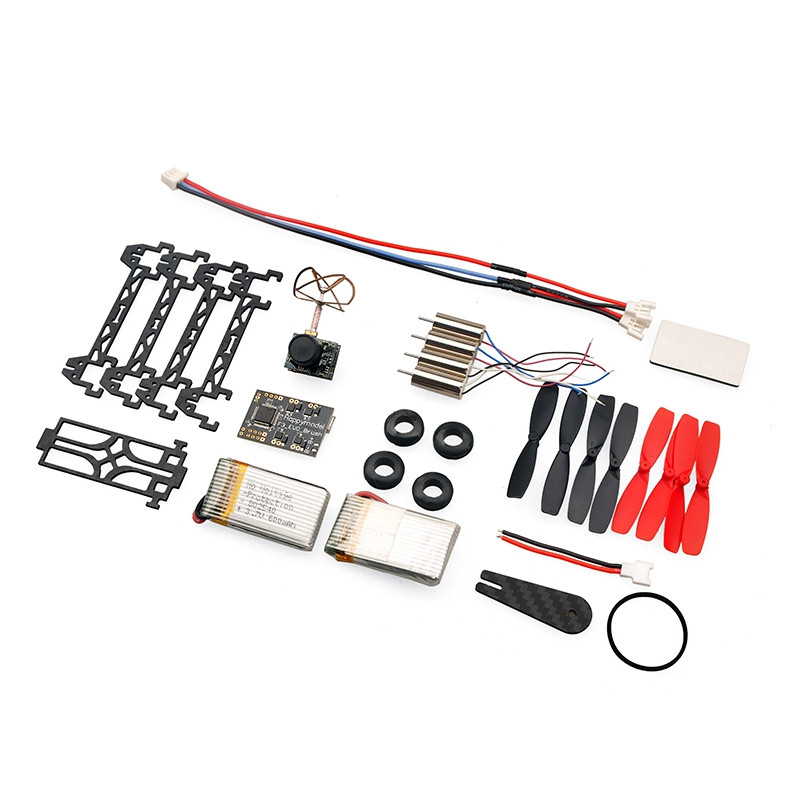 Floureon QX80 80mm 5.8G 32CH Brushed Quadcopter Frame Kit with F3 EVO - PNF
