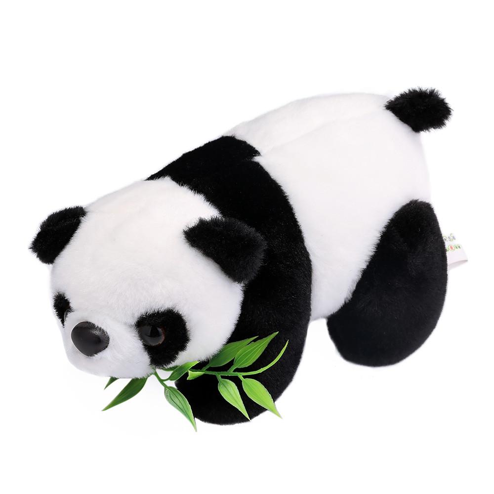 18cm Stuffed Cute Mini Simulation Panda Plush Doll Toy Birthday Christmas Gift for Baby