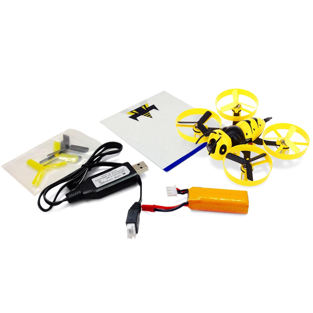 F90 90mm Wasp Mini RC Drone BNF 5.8G 40CH FPV 600TVL Camera Coreless Motor for Indoor Racing