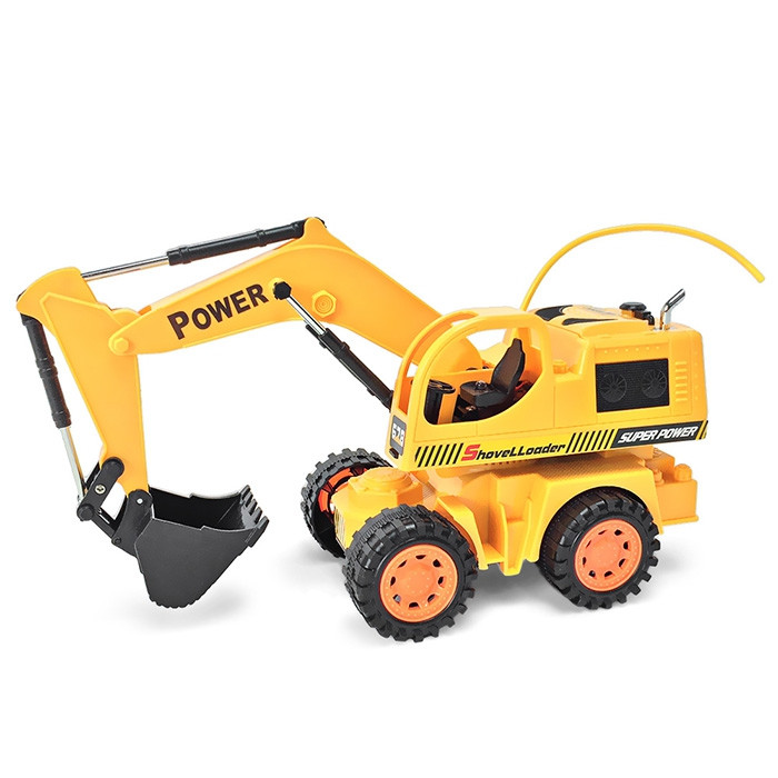 678 8020RC 40MHz RC Engineering Excavator ARR with Movable Arm Big Bucket