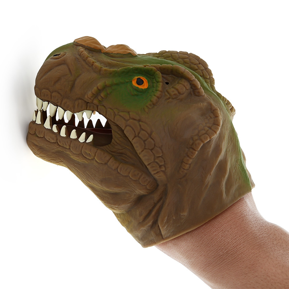 Funny Dinosaur Model Hand Puppet Interactive Toy