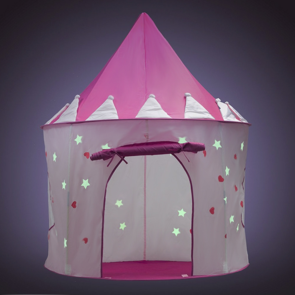 Children Portable Folding Luminous Play Tent Cubby House