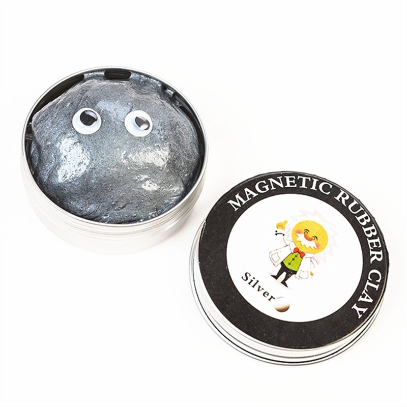 Creative magnetic crystal mud