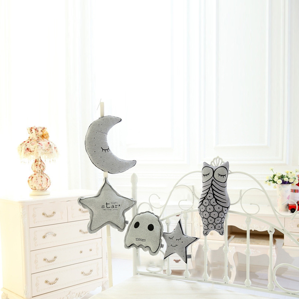 Light Moon Star Soft Stuffed Toy Plush Decoration Doll
