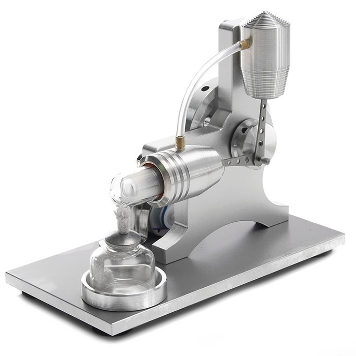 DIY Stirling Engine Steam Machine Model