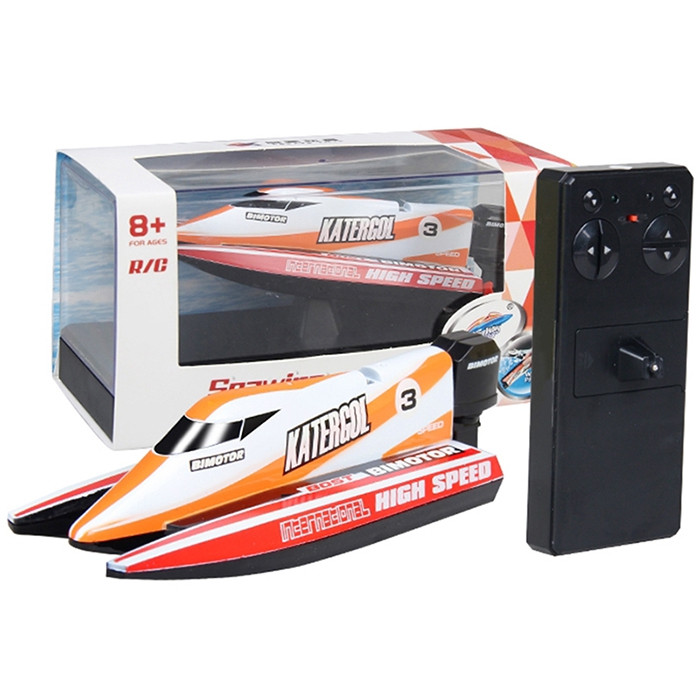 Mini Remote Control Boat 3313M F1 Rowing