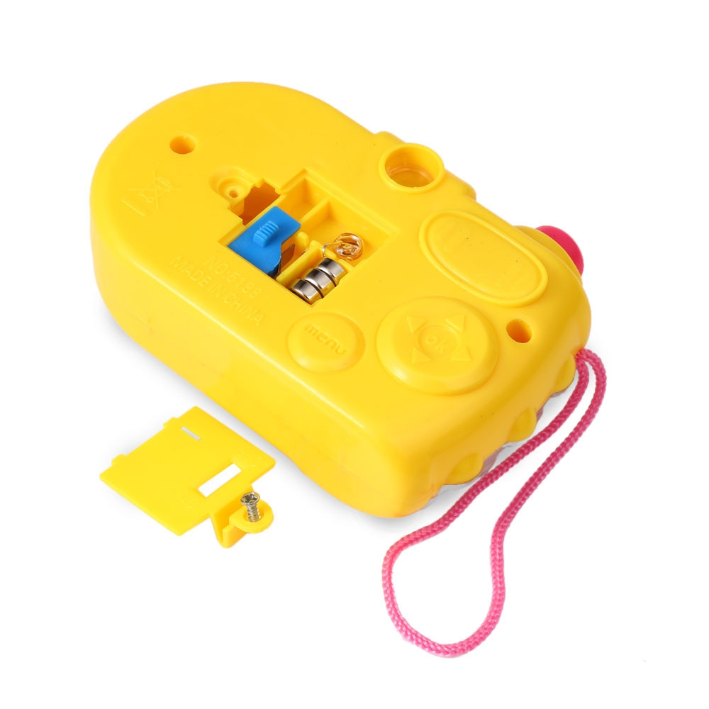 Children Cartoon Mini Shining Projection Camera Educational Toys