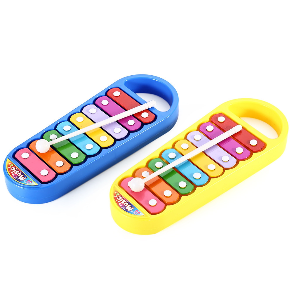 Kid Steel Xylophone Hand Knocking Piano Musical Instrument Wisdom Development Toy
