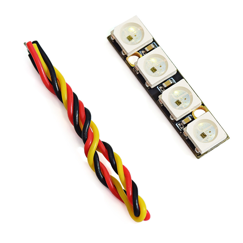AURORA RC WS2812B RGB5050 Mini Programmable LED Board Compatible with NAZE32 F3 F4 Flight Controller