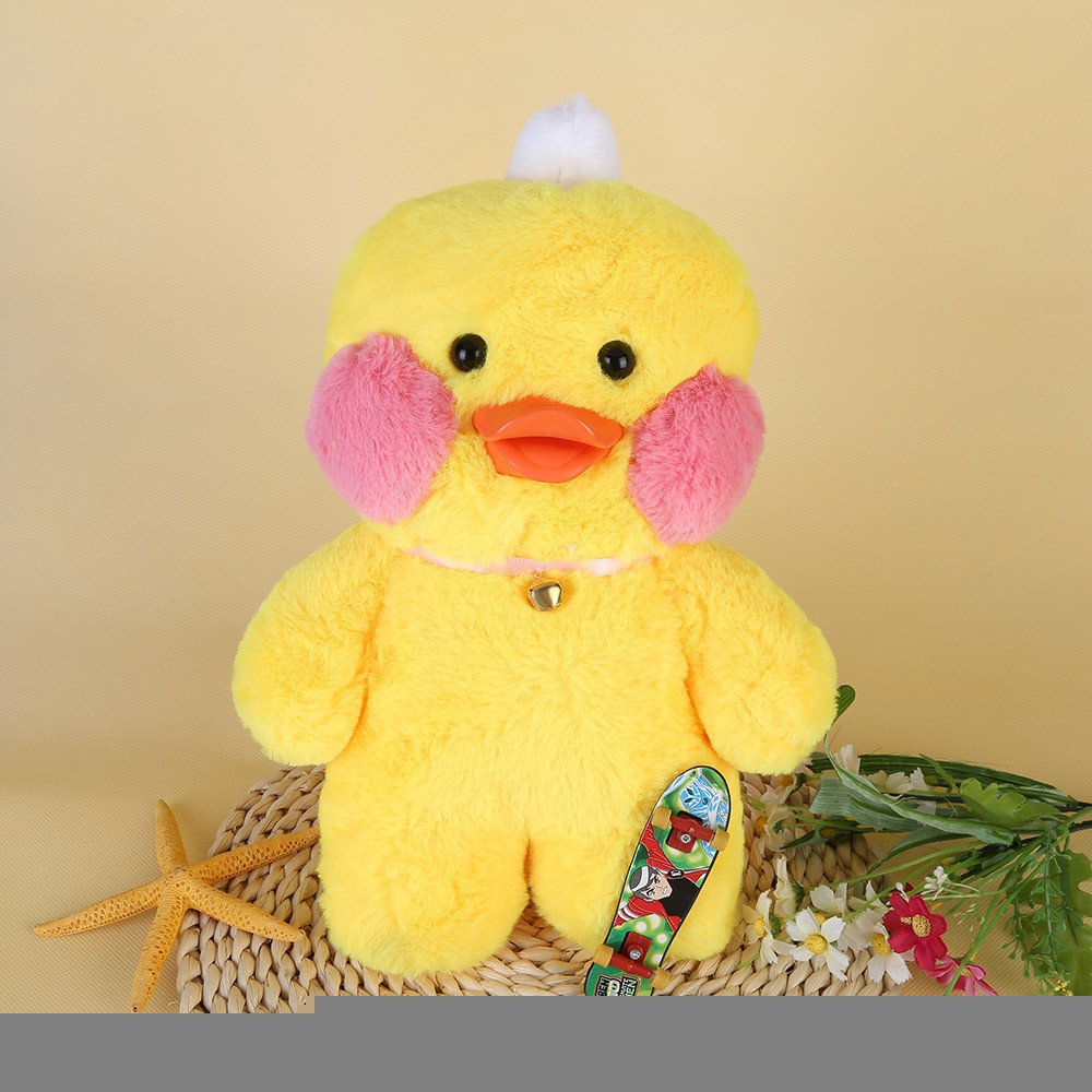 Cafe Mimi Stuffed Duck Plush Doll with Fingerboard 30CM