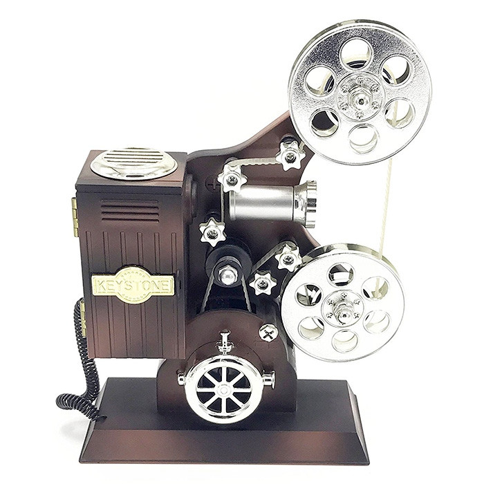 Movie Projector Plastic Music Box