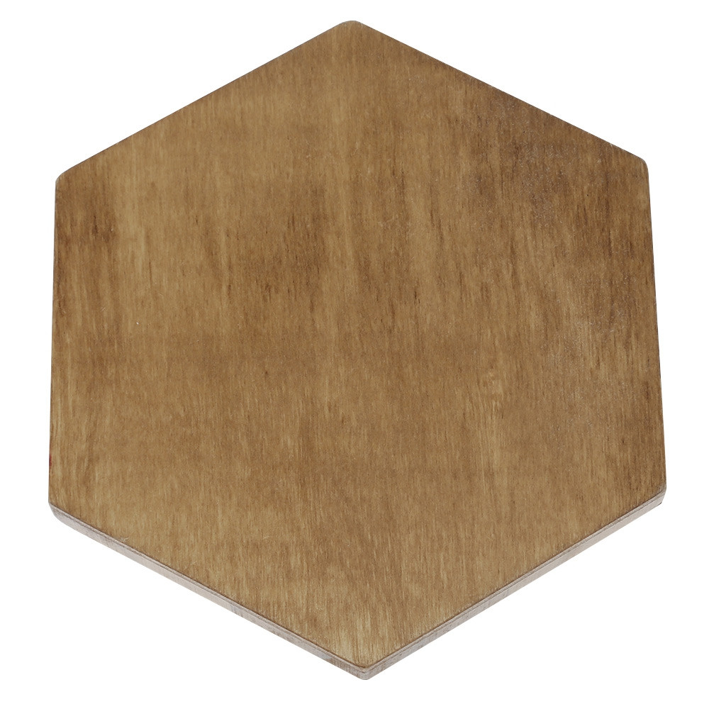 Wooden Hexagon Jigsaw Puzzle Board Educational Toy