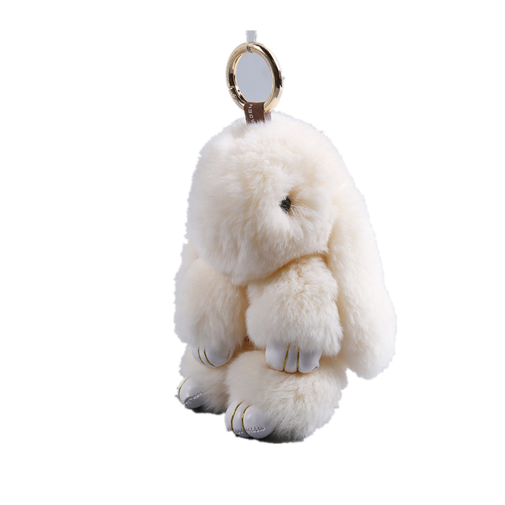 Plush Bunny Backpack Key Pendant