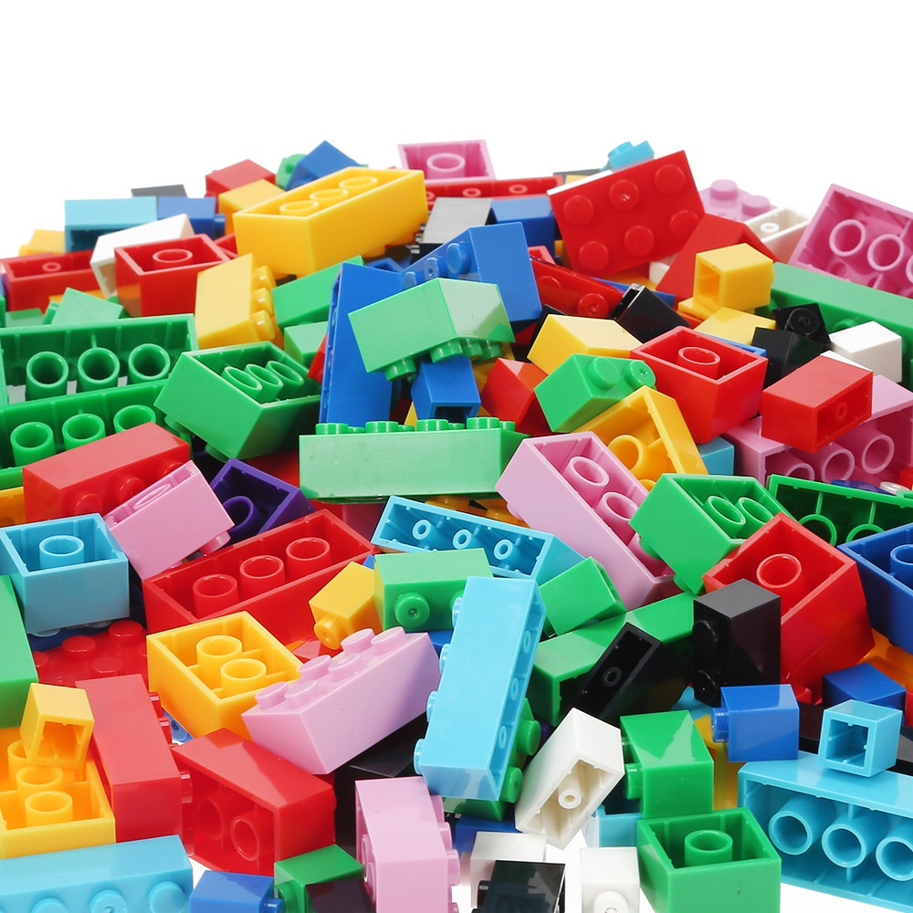 1000pcs DIY Building Blocks Particles Assembled Children Toys
