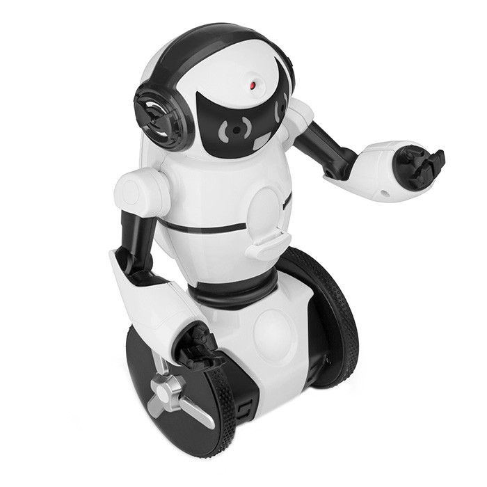 WLtoys F4 Two-wheeled Smart Robot WiFi Camera / Dance / Music / Gesture / G-sensor Control / Avoidance Mode