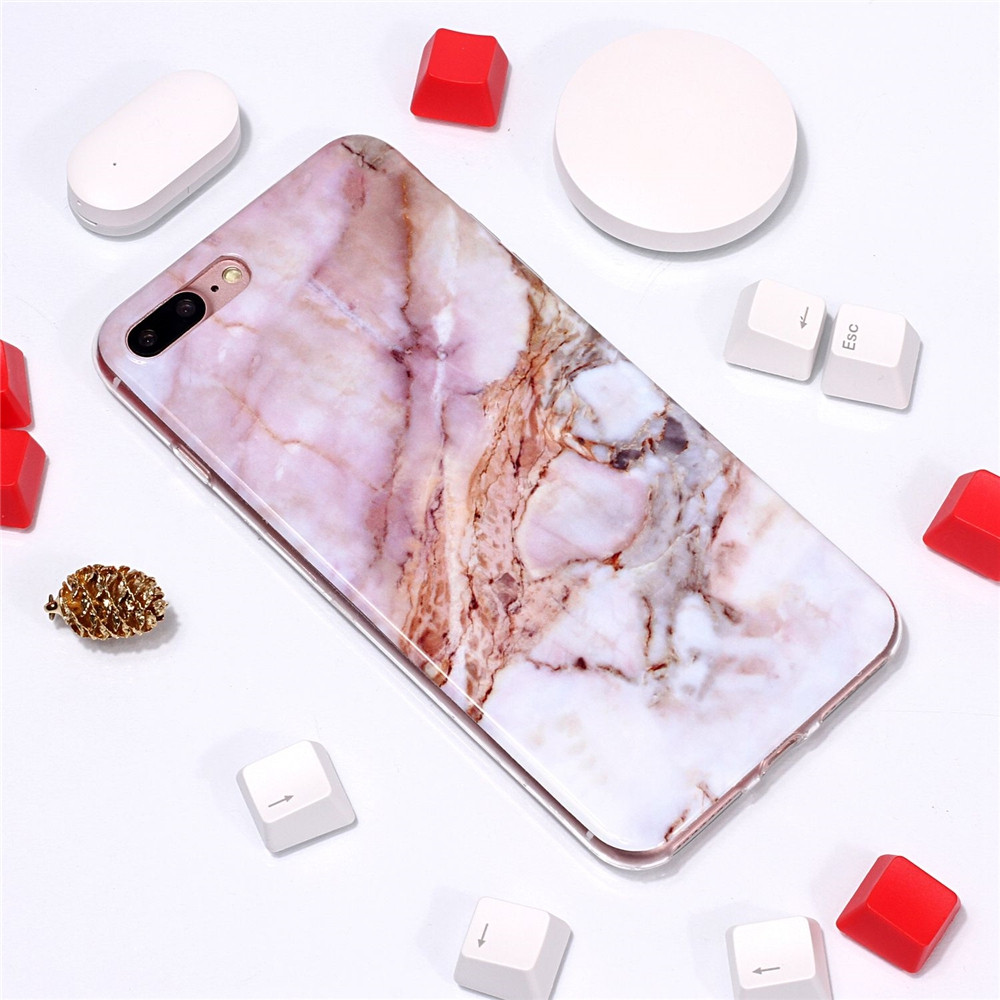 Classic Powder Marble for iPhone 7 Plus/8 Plus