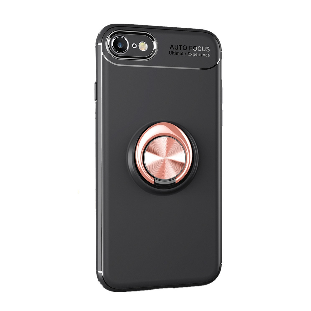 Fashion Ring Stand Slim Armour Shockproof Case Cover for iPhone 8 7 6S