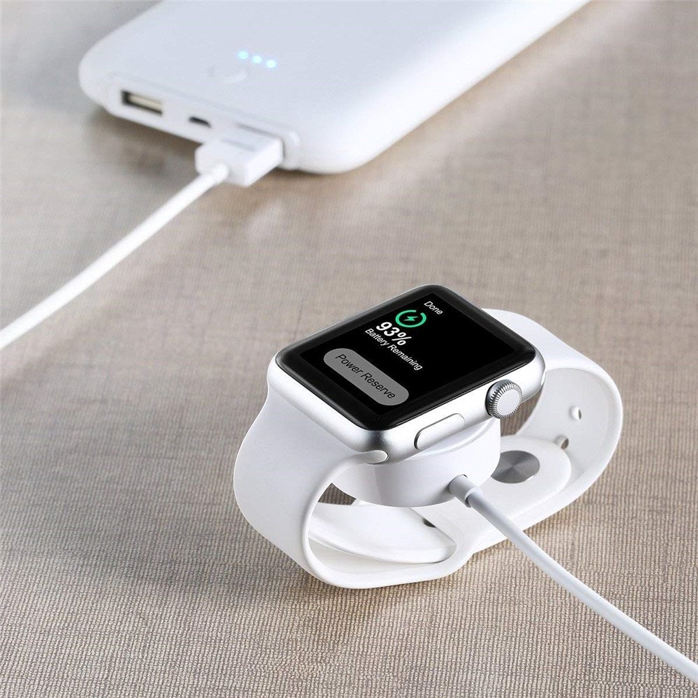 USB Smart Watch Magnetic Wireless Charger for Apple Watch 1/2/3/4