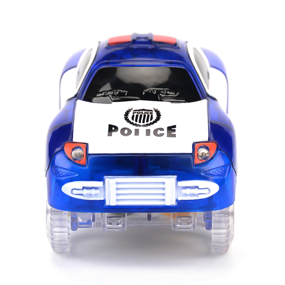 Children Racing Track Car Toy with LED Flashing Light