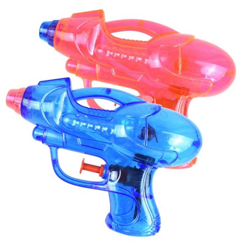 Transparent Water Pistol Toy for Children in Hot Summer