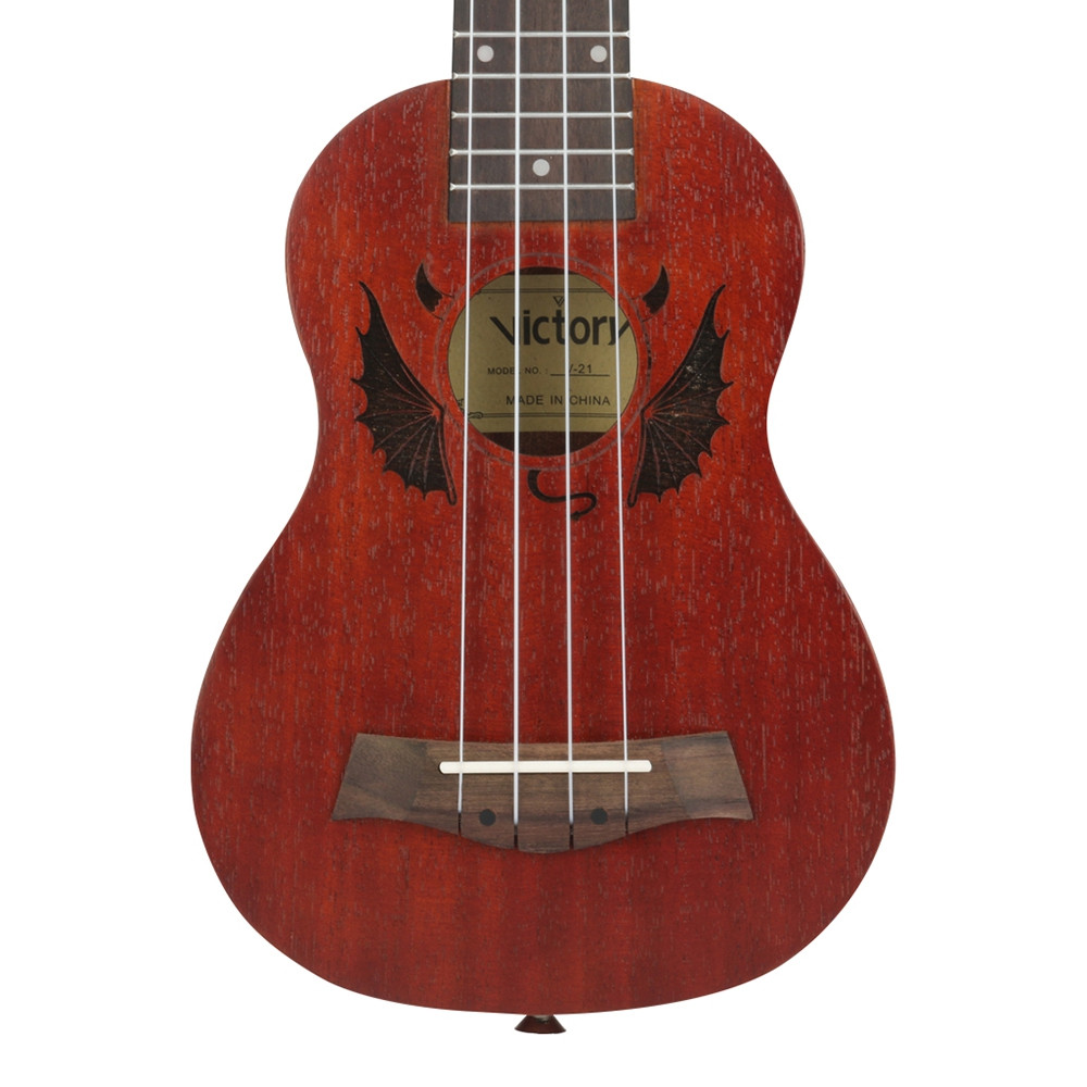 Soprano Ukulele 21 inch all Mahogany Material with Beginner Kit