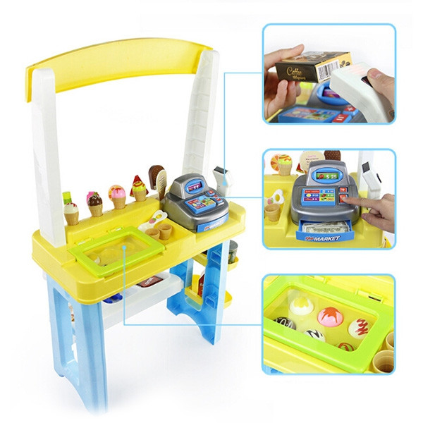 Simulation Ice Cream Sale Car Children Toy