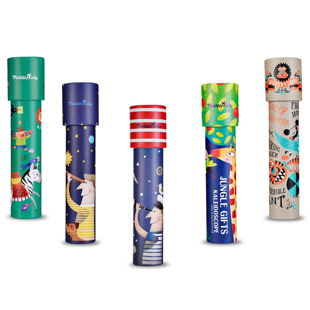 MiDeer Colorful Magic Kaleidoscope Children Cartoon Classic Educational Toy