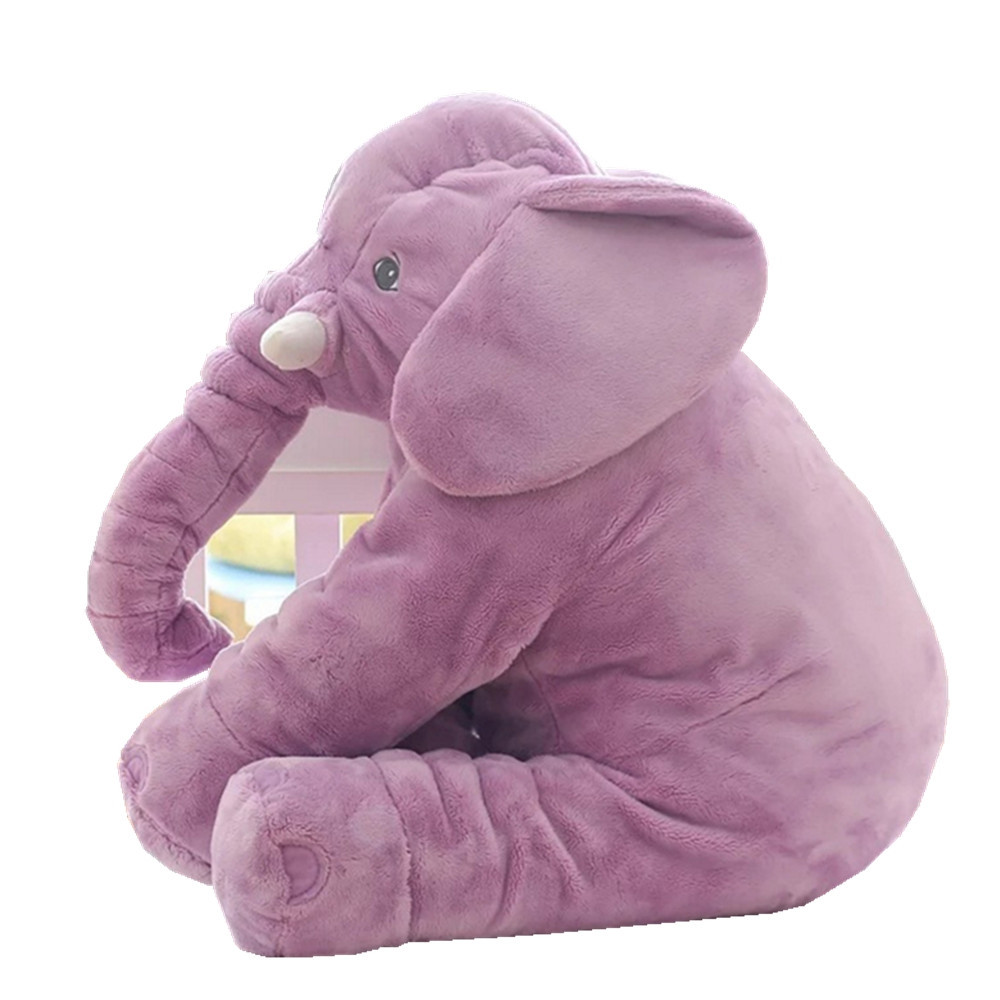 Infant Soft Appease Elephant Playmate Calm Doll Baby Toy