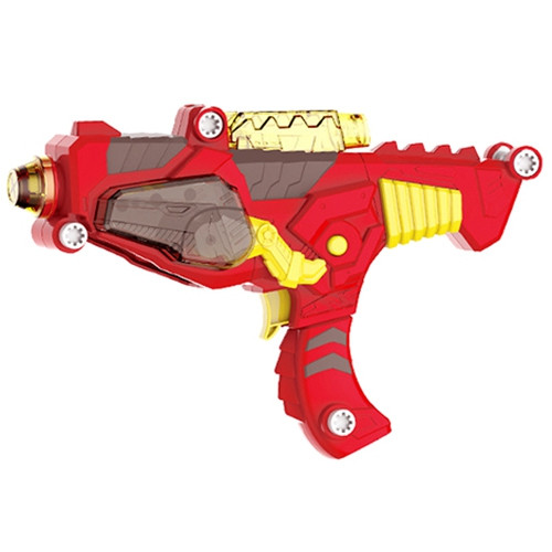 3-in-1 Transformation Dinosaur DIY Gun Assembly Toy with Lifelike Design Colorful Lights Realistic Sound Effect