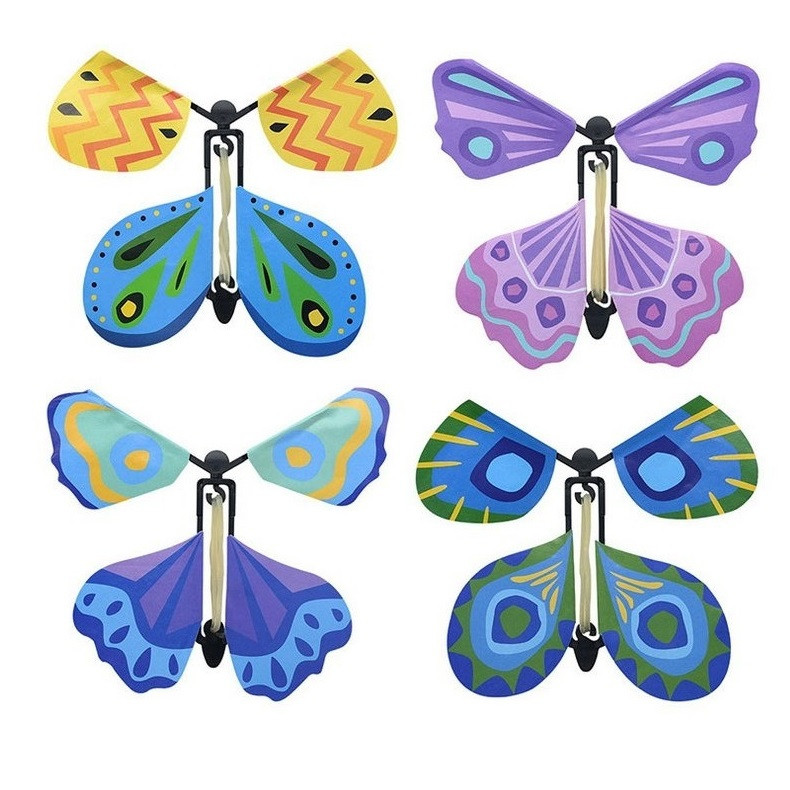 Creative Magic Flying Butterfly Children Toy