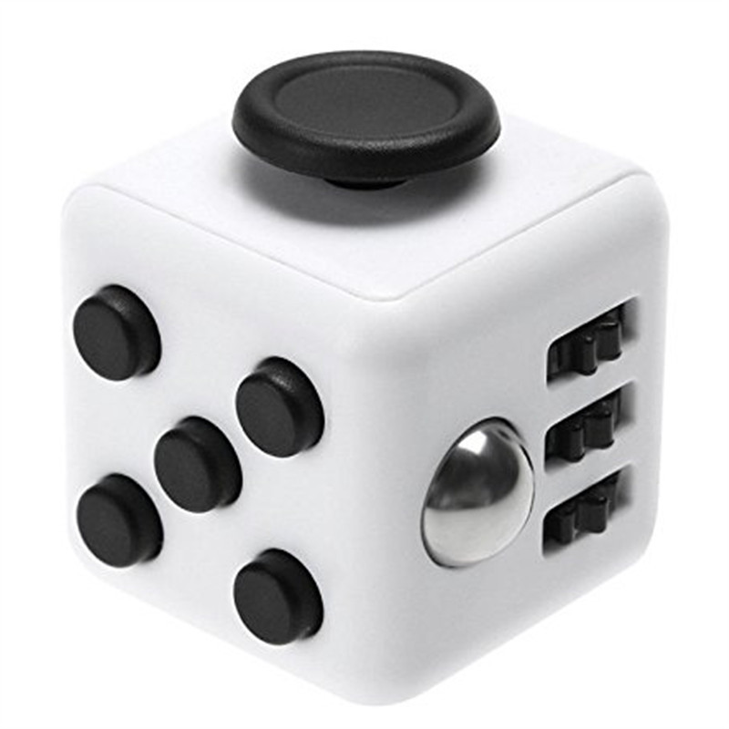 Fidget Dice Toy 6 Sides Release Stress Anxiety and Relax Magic Cube for Children and Adults