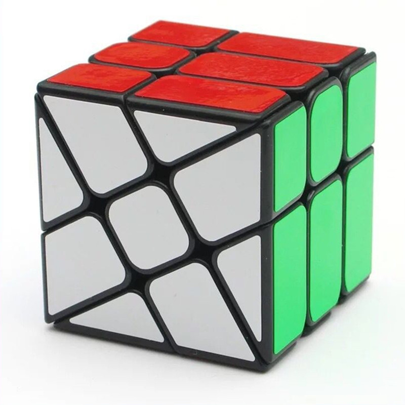 Third Stage Decompression Magic Cube with Fire Wheel Shape