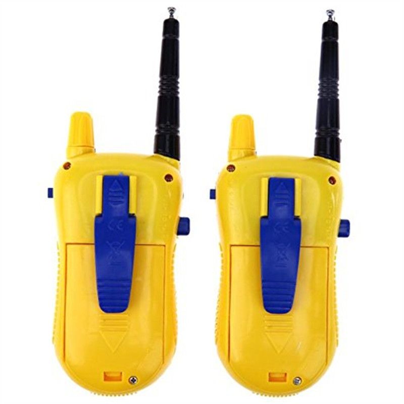 Children Handheld Mini Electronic Walkie Talkie Toy 2PCS