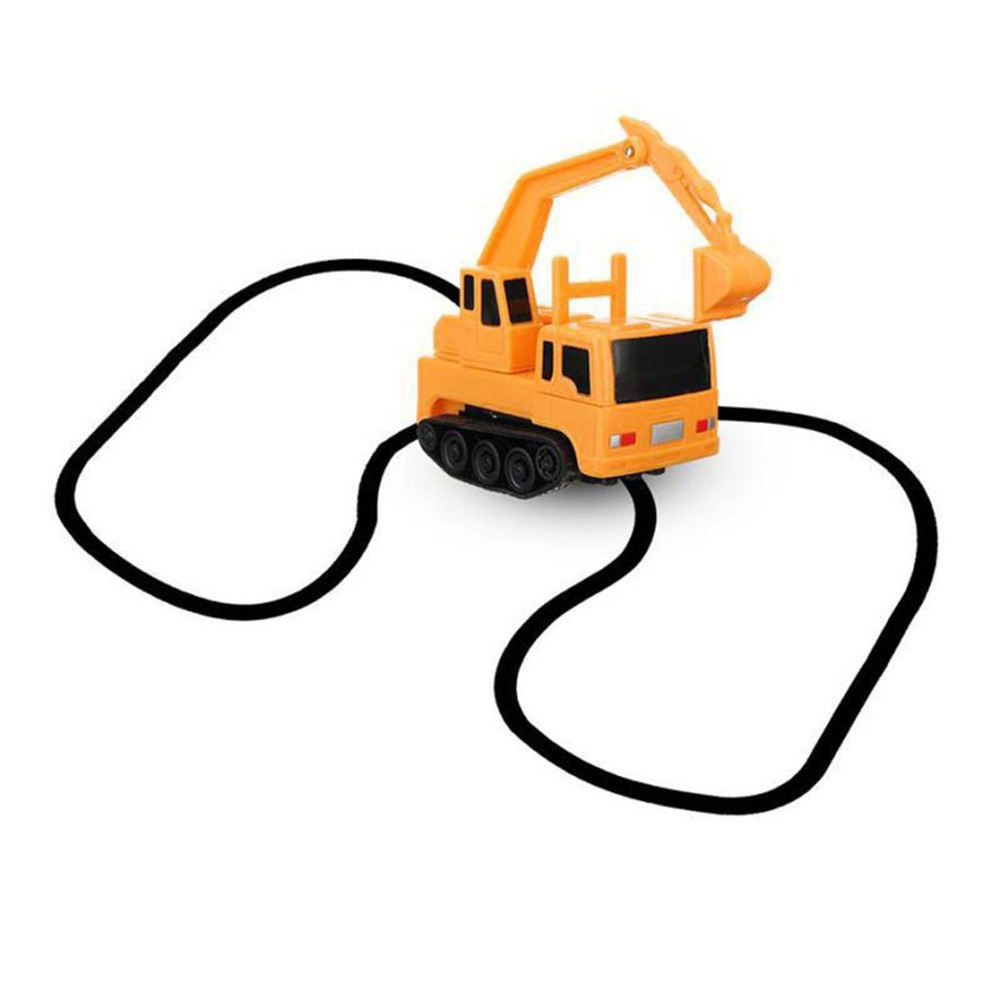 Magic Inductive Truck Follow Drawn Line Car Toy for Kids Children