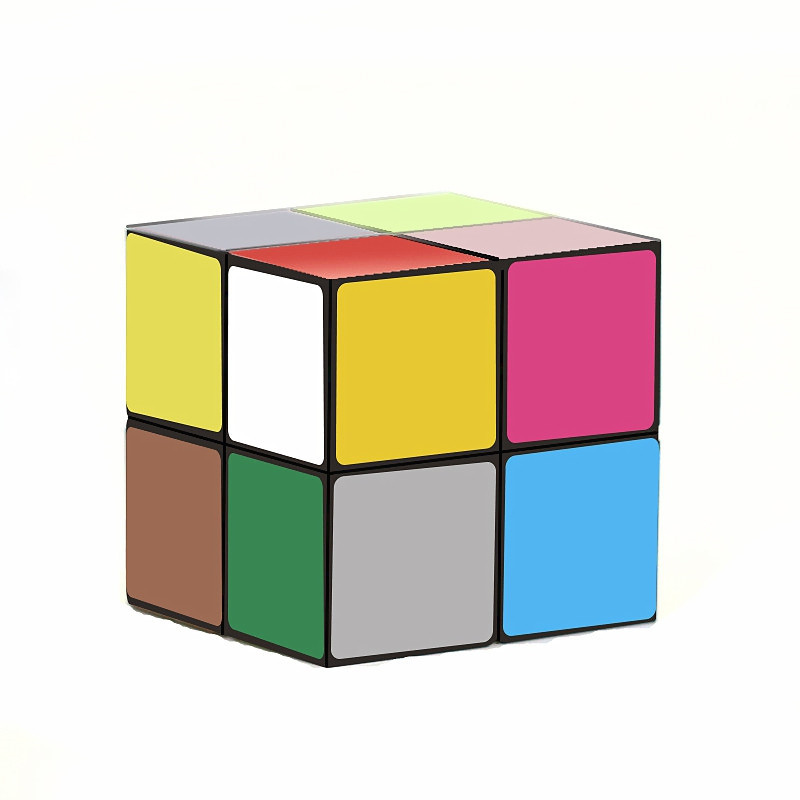 Kids Magic Star Infinite 3D Cube Game Puzzle Twist Toy Party Travel Child Gift