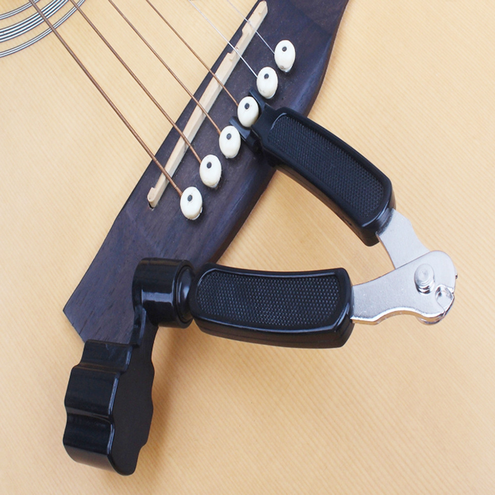 3 in 1 Peg String Winder Tool Multifunction Guitar String Cutter for Guitar