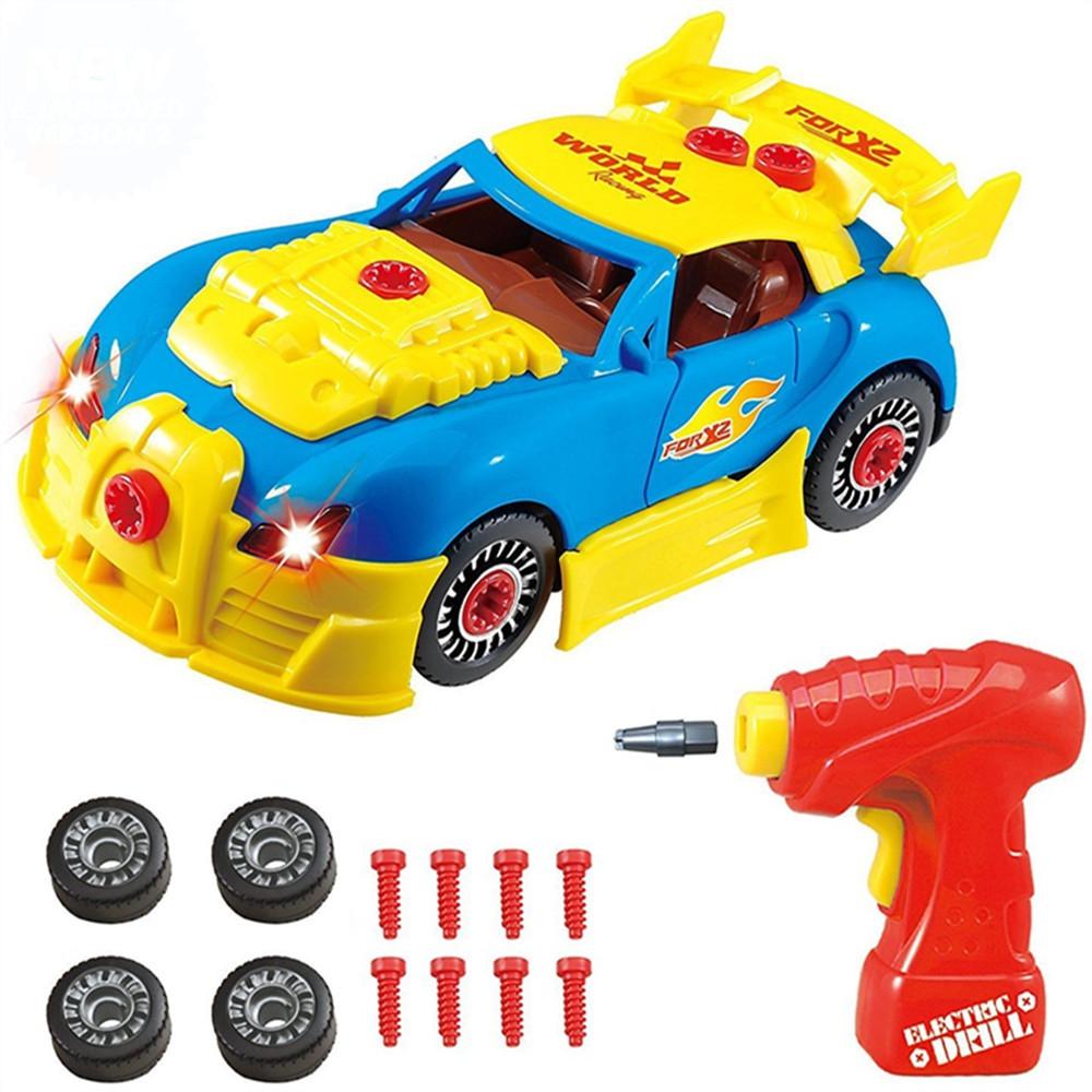 Take Apart Toy Racing Car Kit For Kids Build Your Own Car Kit Toy