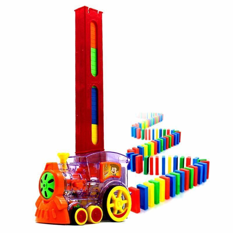 Dominoes Block Train Toy