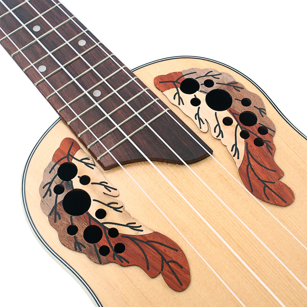 23 inch Ukulele Spruce Rosewood Fingerboard Bridge with Built-in EQ Bracket