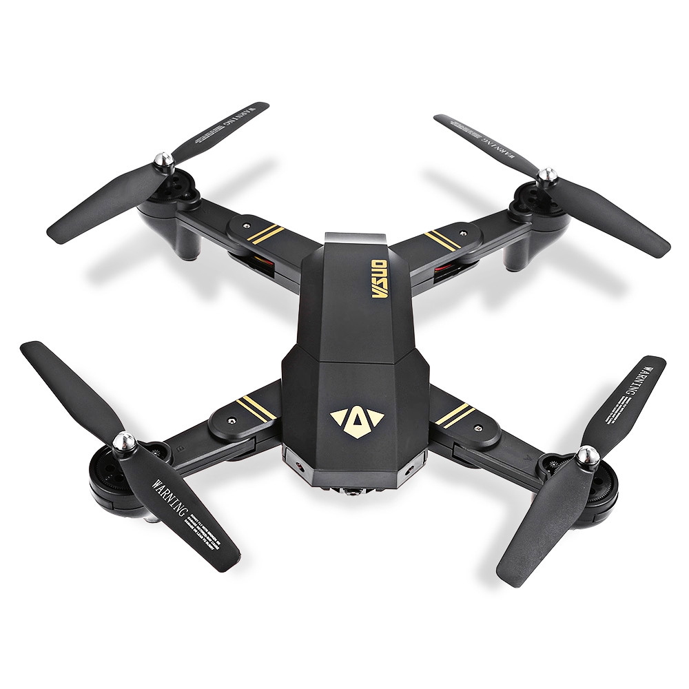 XS809W Mini Foldable RC Drone with WiFi FPV HD Selfie Camera / Headless Mode