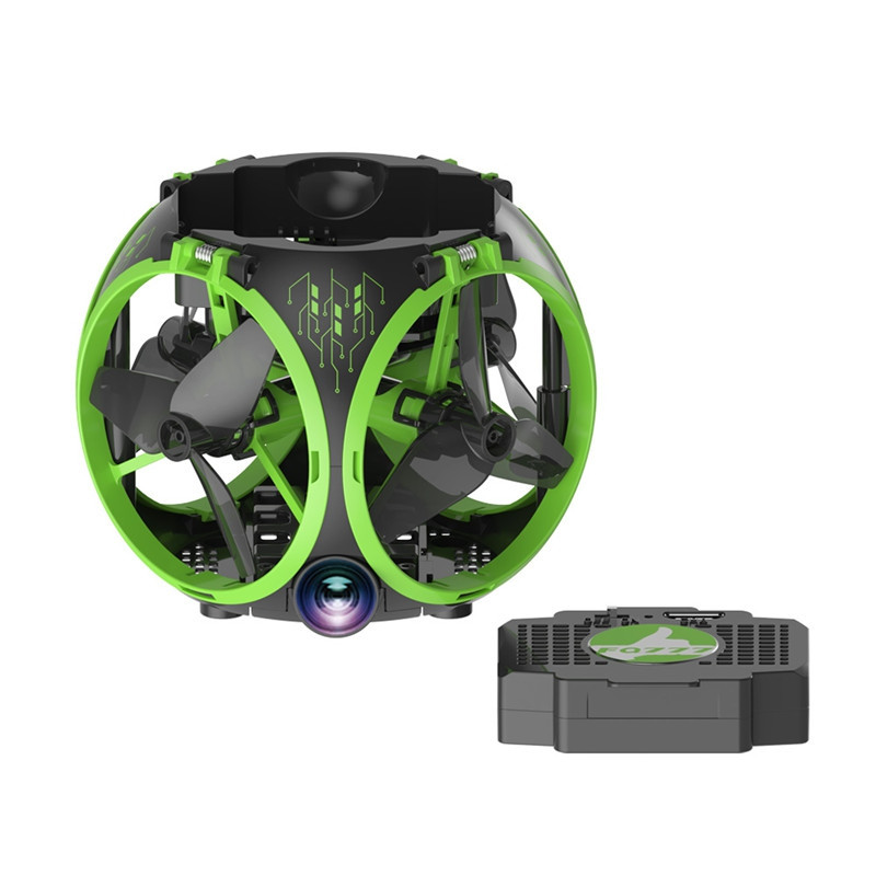 Foldable WiFi FPV RC Drone with Wide Angle Camera / Altitude Hold / Headless Mode