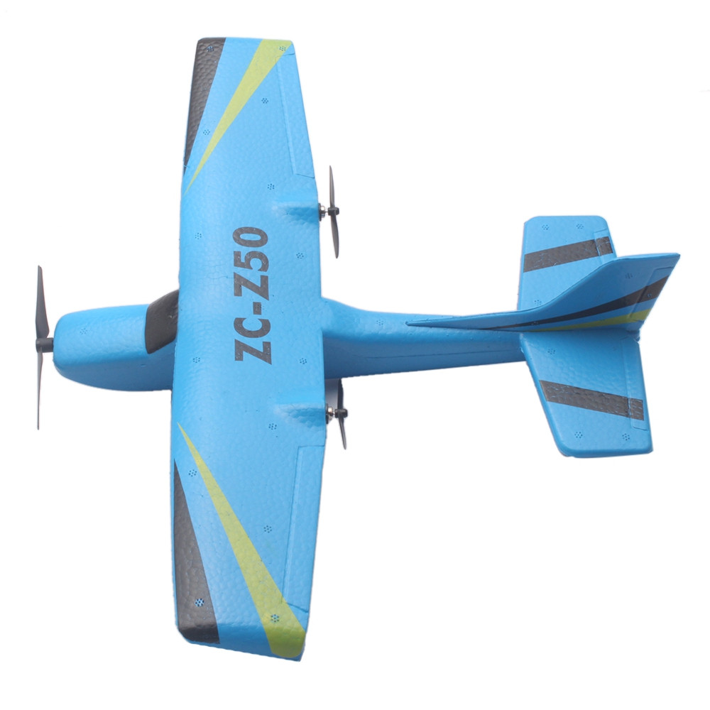 ZC Z50 2.4GHz 2CH 340mm Wingspan Tough EPP RC Glider Airplane RTF