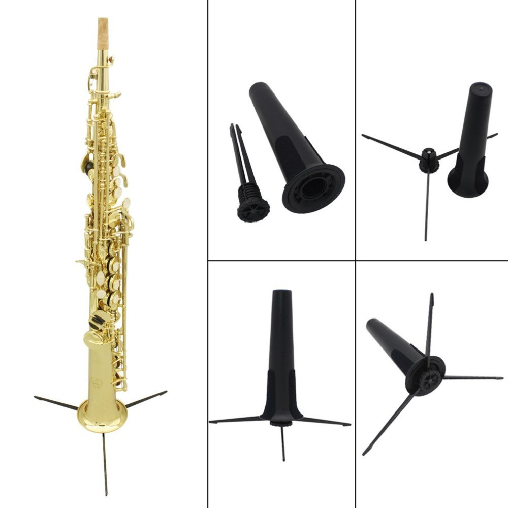 Detachable Folding Clarinet Tripod Holder Stand