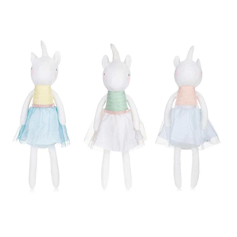 53CM Cute Plush Toy Unicorn Doll Children Birthday Gift